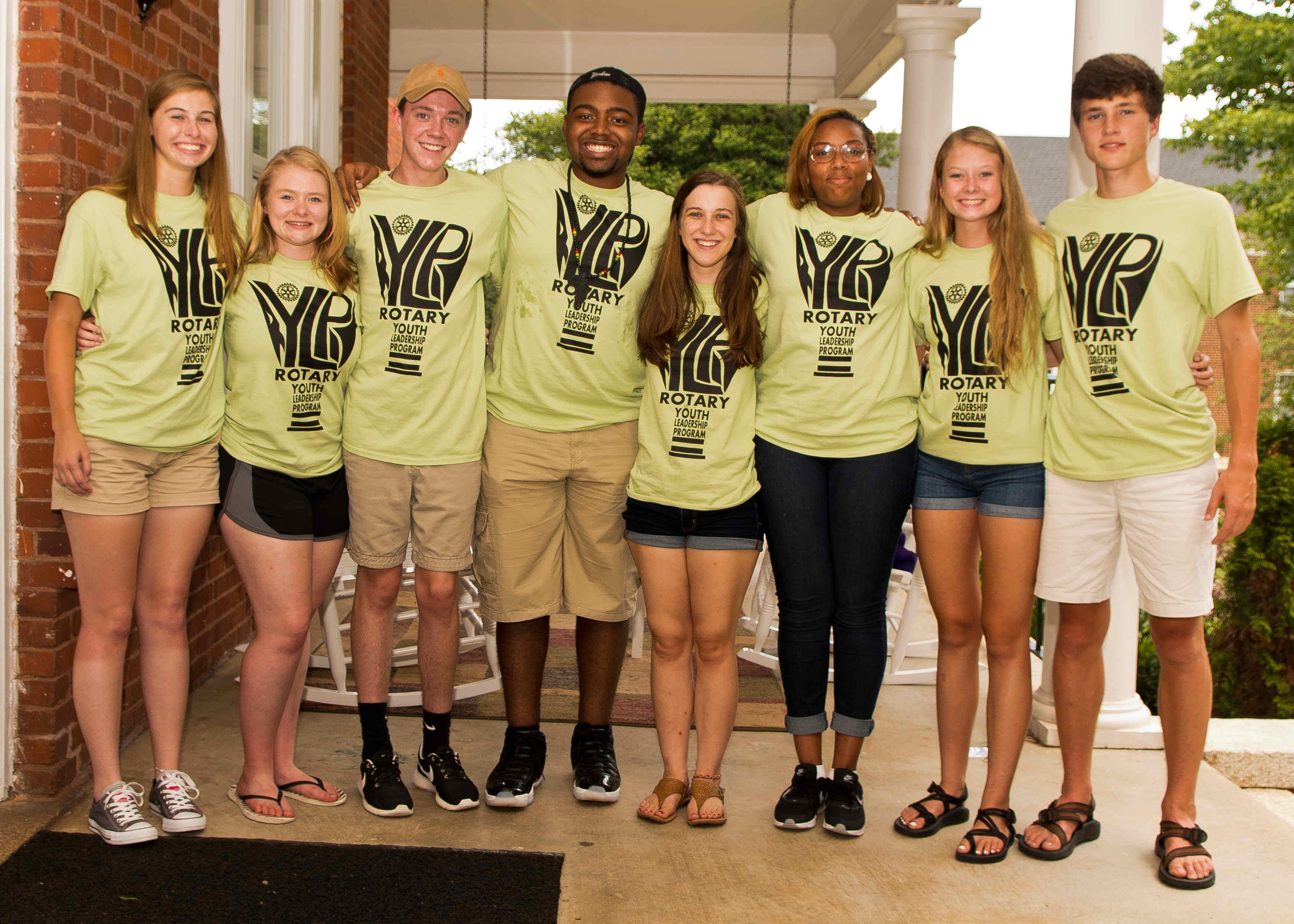 Rotary Youth Leadership Program Rylp Rotary Club Of Greensboro