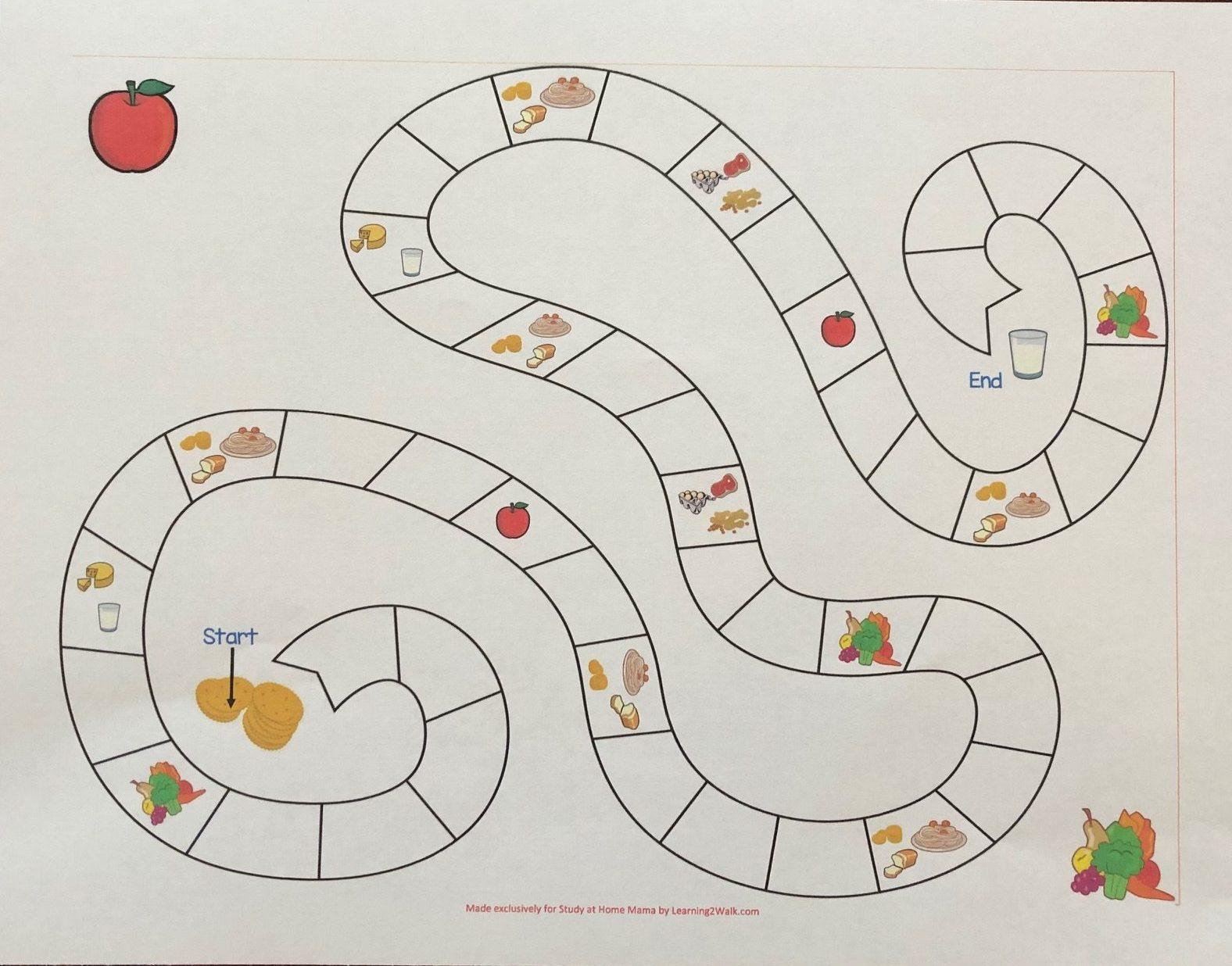JLF Kid in Kitchen food groups game